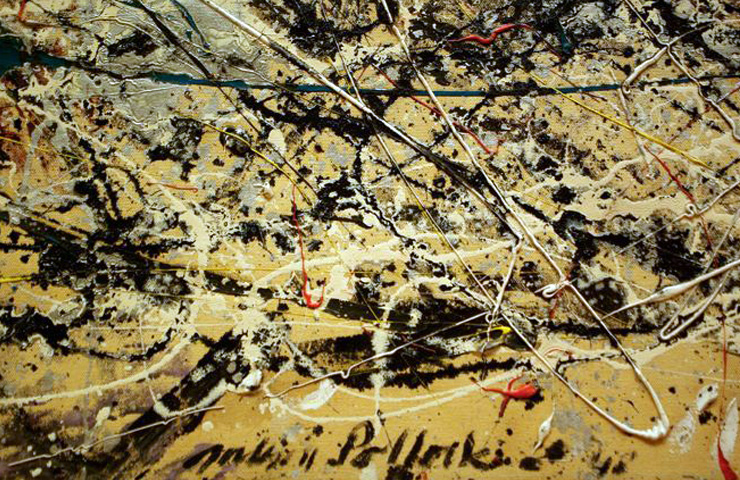 thesis statement on jackson pollock Like rationalism and empiricism, existentialism is a term that belongs to intellectual history  abstract expressionists such as jackson pollock.
