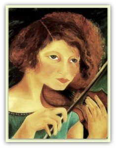 Antonietta Raphaël (1895-1975) Italian sculptor and painter