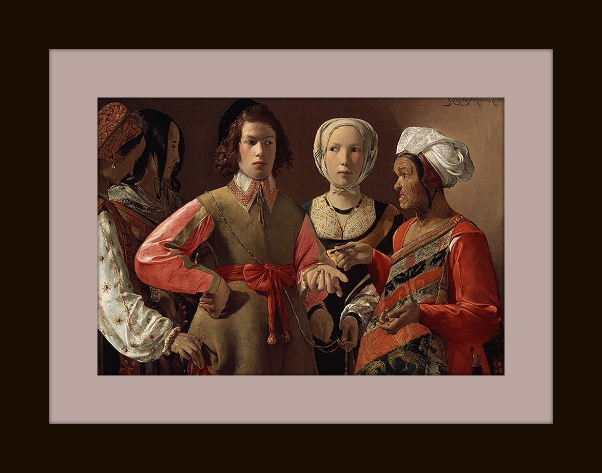 IN A REALISTIC MANNER – Georges de la Tour: using of simple lighting