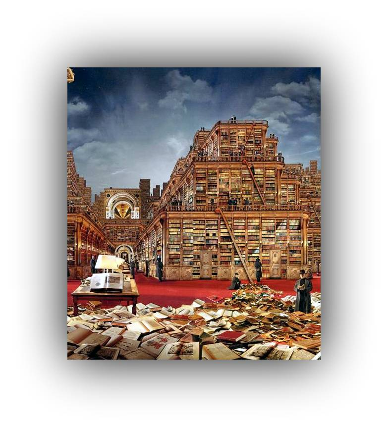 essays on the library of babel The library and g del considerations about permutations, (in)finity, the size of the universe, g delization, holographic memory and exponential growth.
