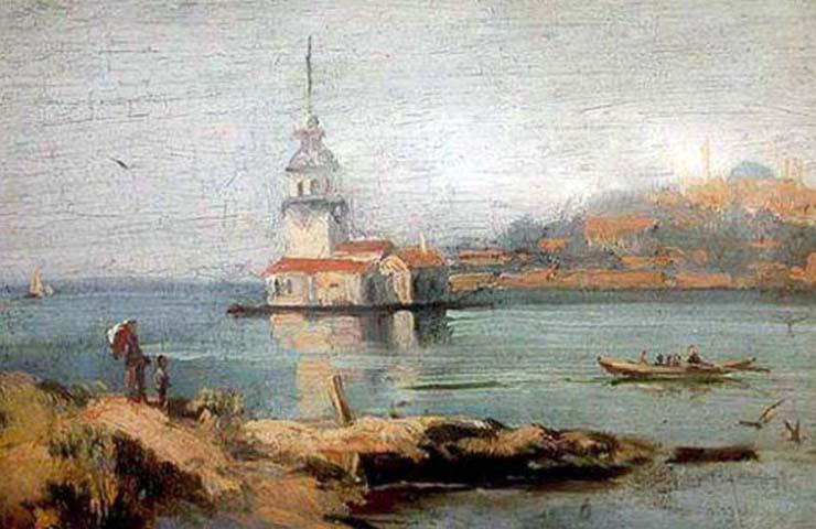 HOCA ALI RIZA (1858/1930), TURKISH IMPRESSIONIST PAINTER